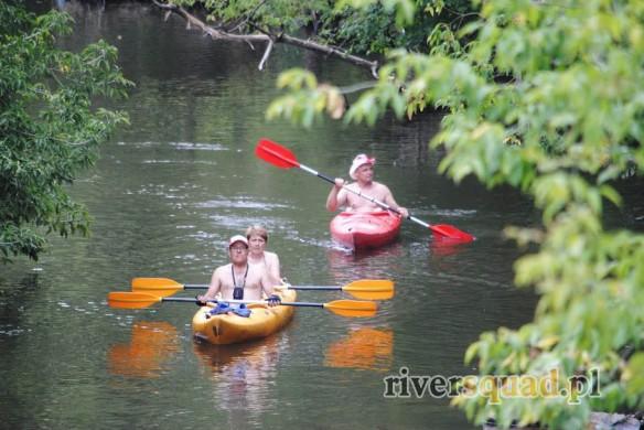 Spływ rzeką Świder